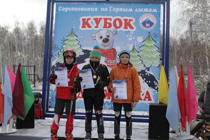 Антонов Максим. 2-е  место в  слаломе.