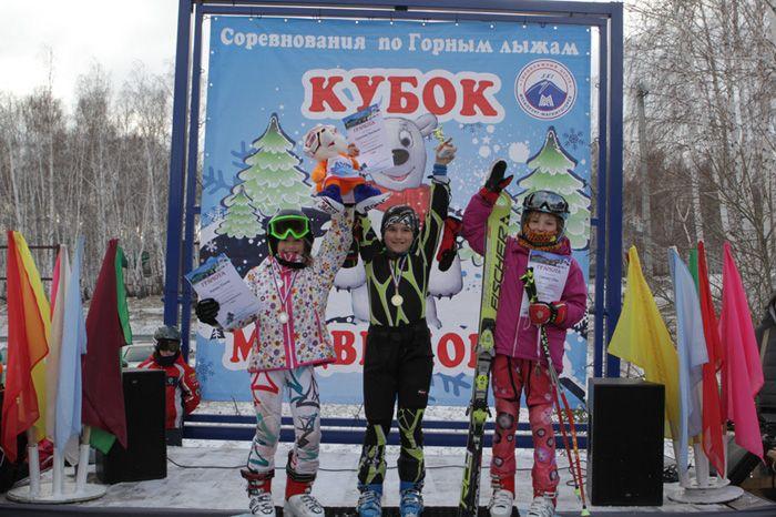 Кириллова Анастасия 1-е  место  в  слаломе  гиганте.