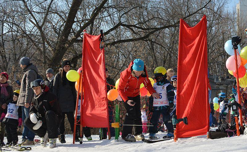 Посвящение в юные горнолыжники ЦСКА